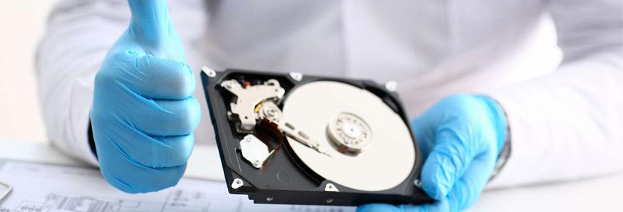 Récupération de données sur disque dur