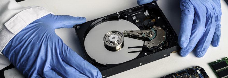 récupérer données disque